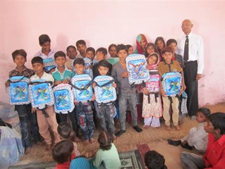Pakistan aid for school children