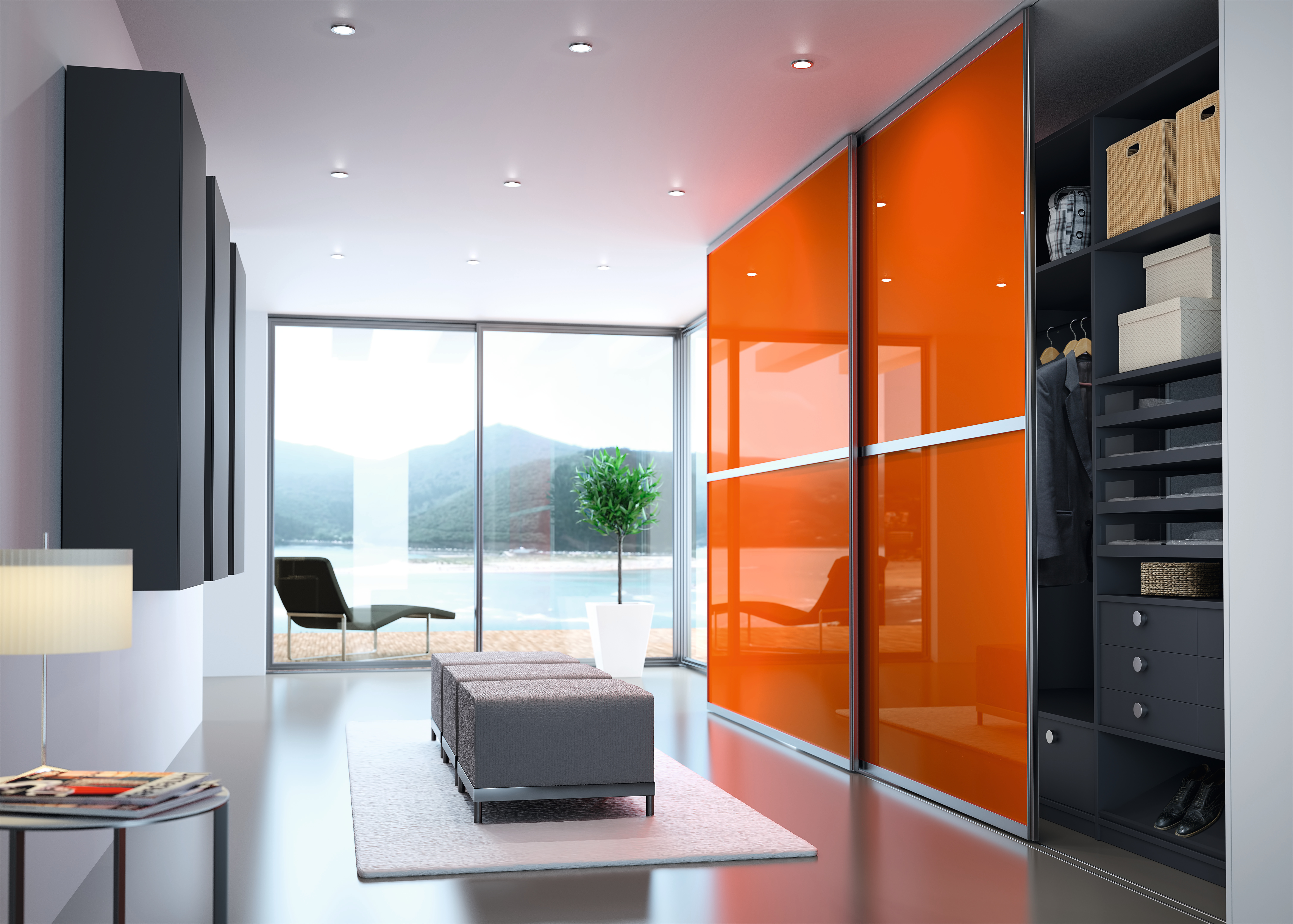 vestibule orange