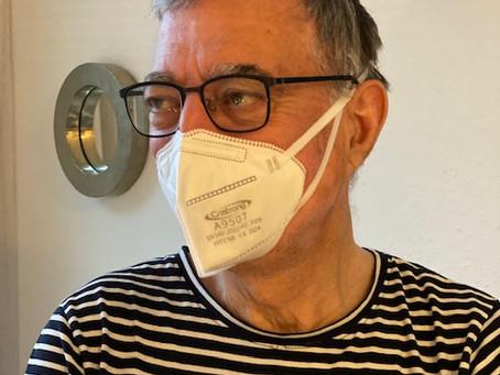 Mein Feldversuch: FFP2 Maske tragen