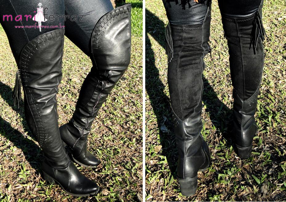 10612dc27 Botas 'over the knee'. As mais desejadas no Inverno.   Blogueira   SC    Mari Ferraz - blog de Moda e Comportamento
