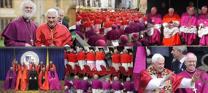 BeastsMark: Great Whore dressed in purple and scarlet