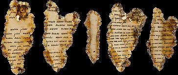 BeastsMark: Dead sea scrolls showing the Mark of the Beast