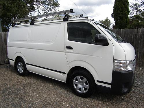 2014 Toyota Hiace LWB Van With Rear Shelving
