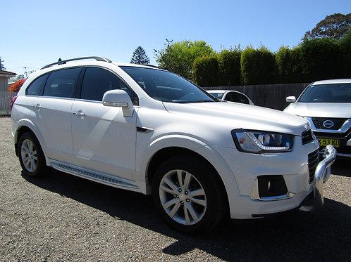 2016 Holden Captiva LT AWD Turbo Diesel SUV