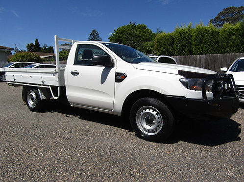 2017 Ford Ranger 4X2 Cab Chassis Single Cab Ute