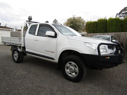 2015 Holden Colorado Turbo Diesel 4X4 Space Cab Tray back