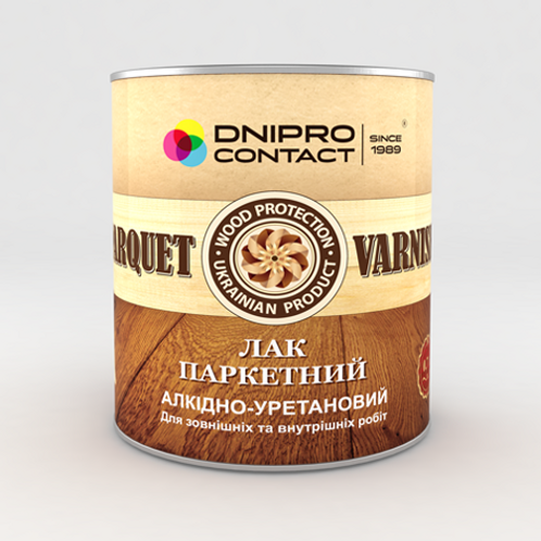 "Лак паркетний ""Dnipro-Contact"""