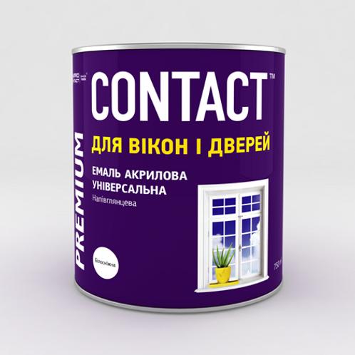 """Емаль акрилова універсальна """"CONTACT"""""""
