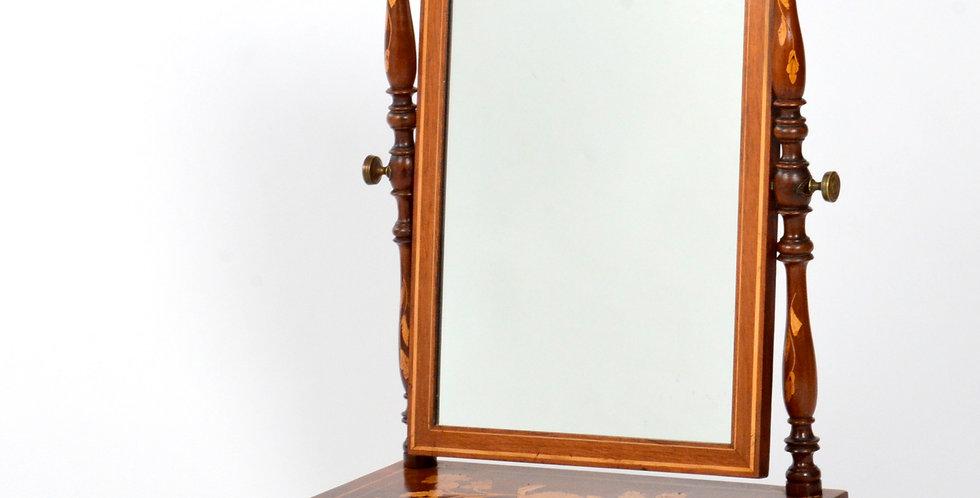 Dutch Marquetry Mirror