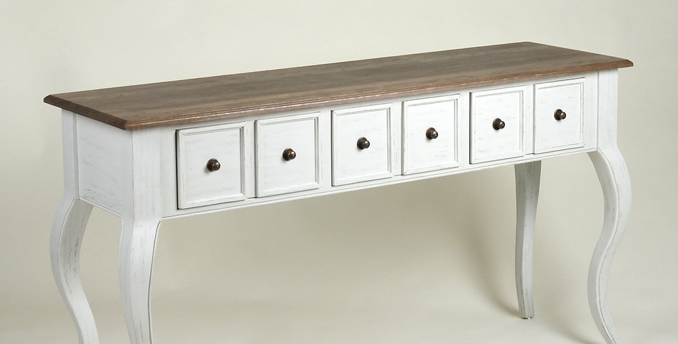 French Wood Console