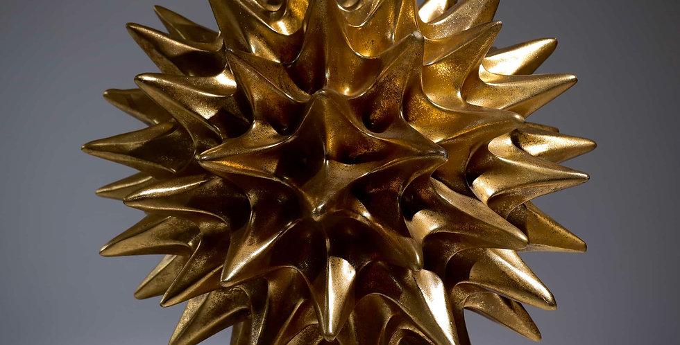 Large Gold Resin Sculpture