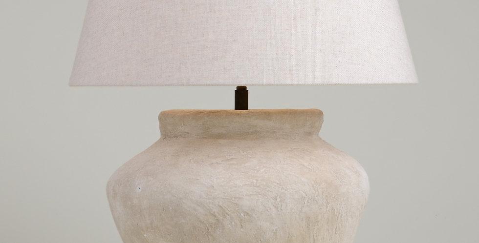 Hand Made White Lamp