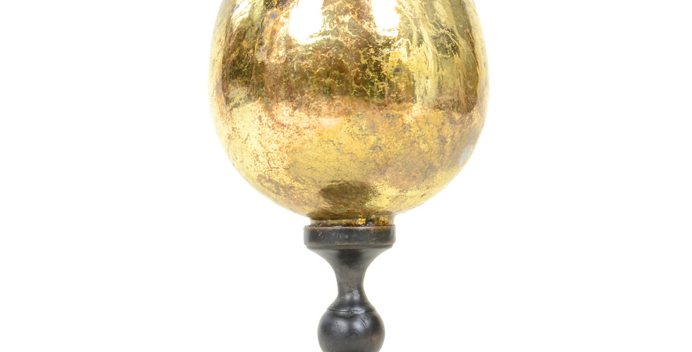 Glass Egg on Stand