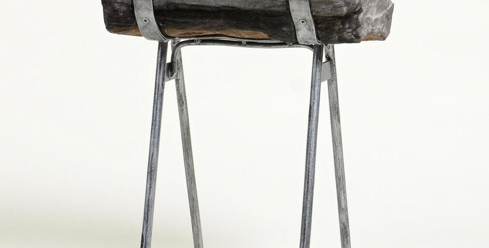 Petrified Wood Side Table