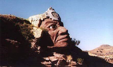 Large Indigenous Head