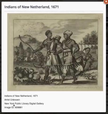New Netherland Indians
