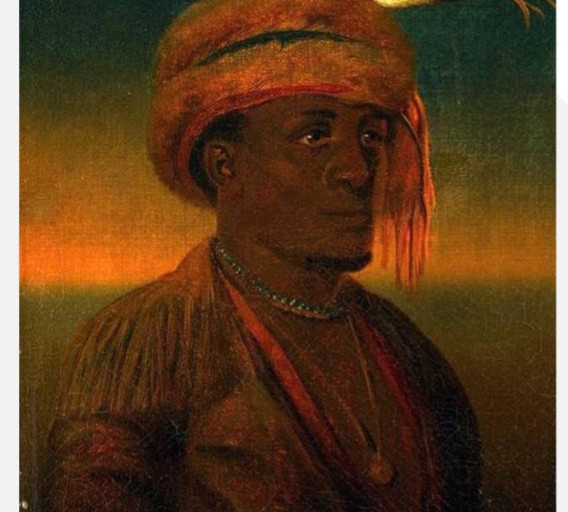 """""""An Indian of America"""" (1860)"""