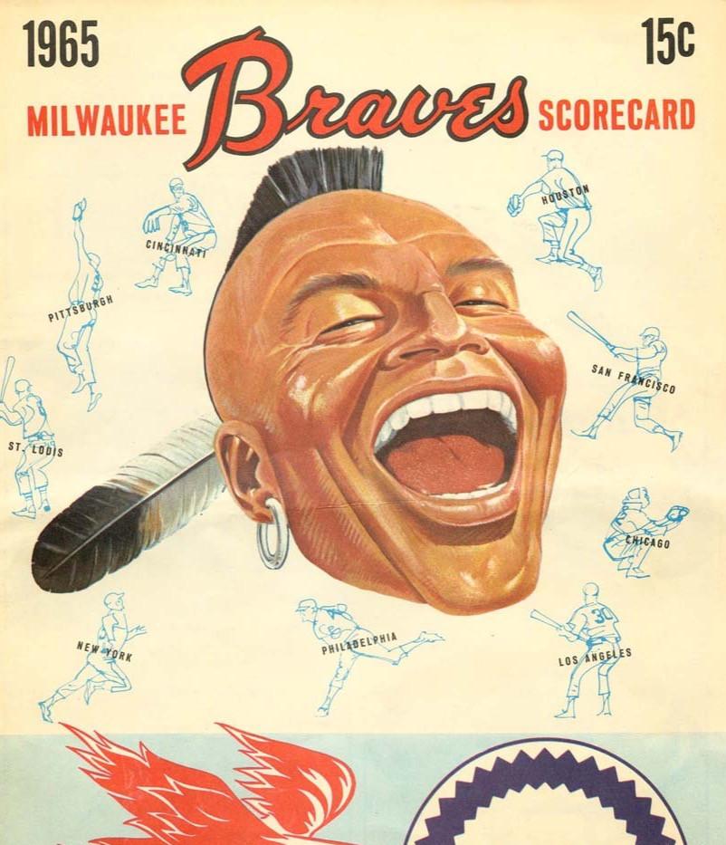 Milwaukee Braves Scorecard