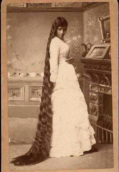Black Cherokee Princess - Long Hair