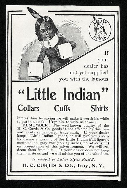 Collars, Cuffs and Shirt Advertisement