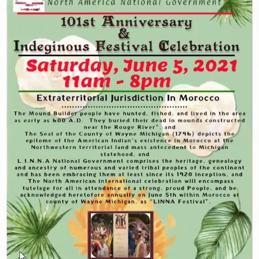 League of Indian Nations of North America 101st Anniversary Celebration