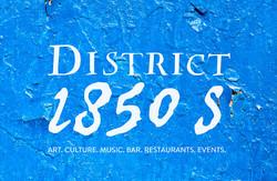 Logo District1850s wall