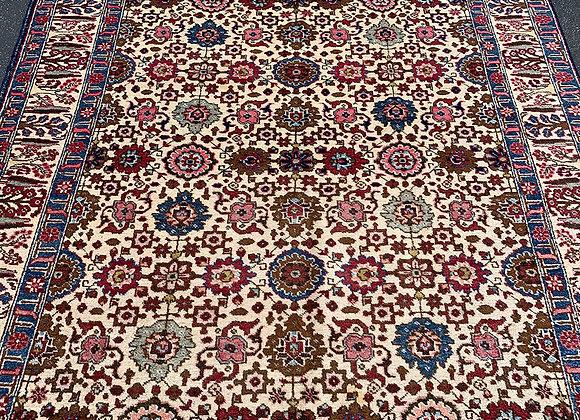 Persian Tabriz Wool on Cotton Rug