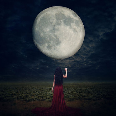 Daughter of the Moon - Fine Art Print (2 Sizes)