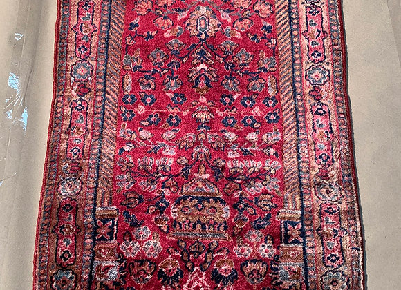 Antique Persian Sarouk, Gazan Garpet Runner