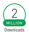 2 Million downloads for Logolicious badge