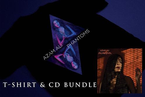 Phantoms T-shirt & CD bundle