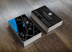Crossfit businesscards
