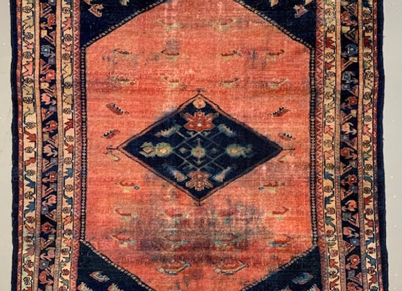 Antique Ardebil Persian Wool on Cotton