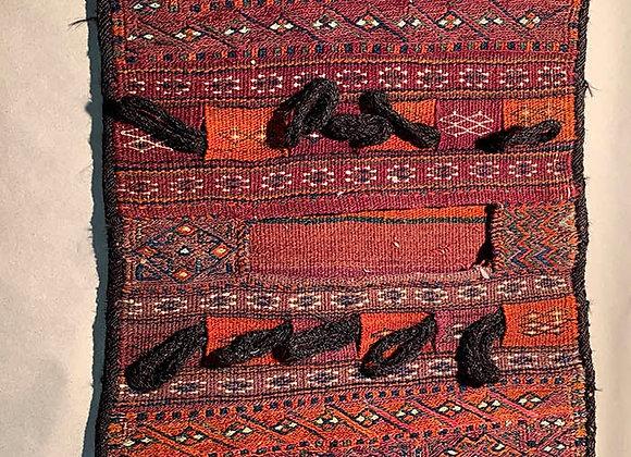 Antique Persian Somak and Kelim Saddle Bag