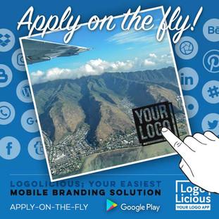 LogoLicious, add your logo app