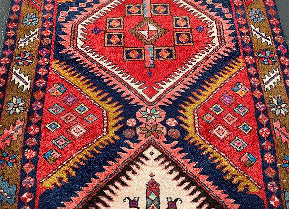 Runner Tabriz Wool on Cotton