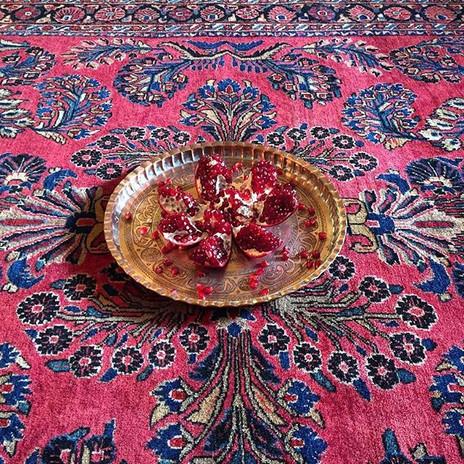 Beautifule restored and cleaned rug