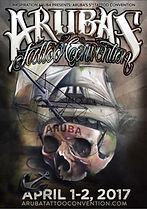 Aruba tattoo convention poster 2017