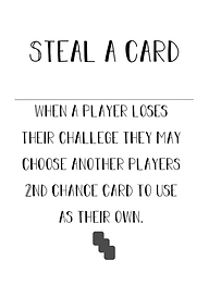 Second Chance Card - Steal a Card - (3) in Deck