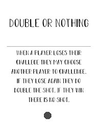 Second Chance Card - Double or Nothing - (2) in Deck
