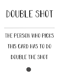 Second Chance Card - Double Shot - (2) in Deck