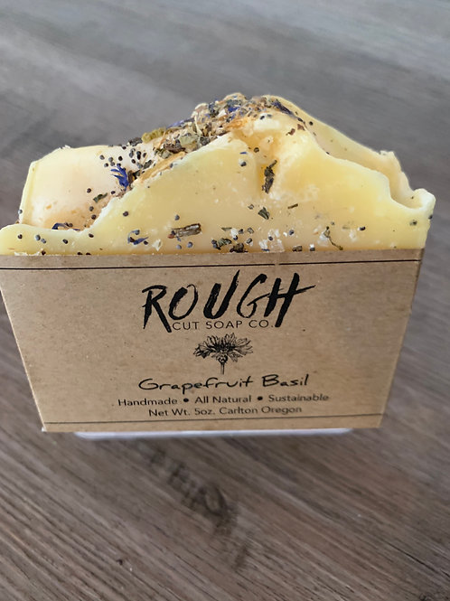 5oz Cold Process Soap - Rough Cut Soap Company