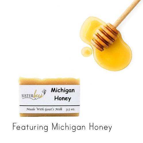 Michigan Honey Goat's Milk Soap
