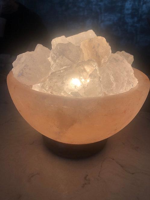 Himalayan Salt Warmer - Fire & Ice Salt Lamp
