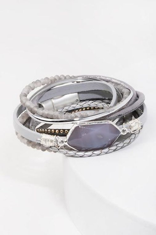 Endless Dream Bracelet By SAACHI- Grey