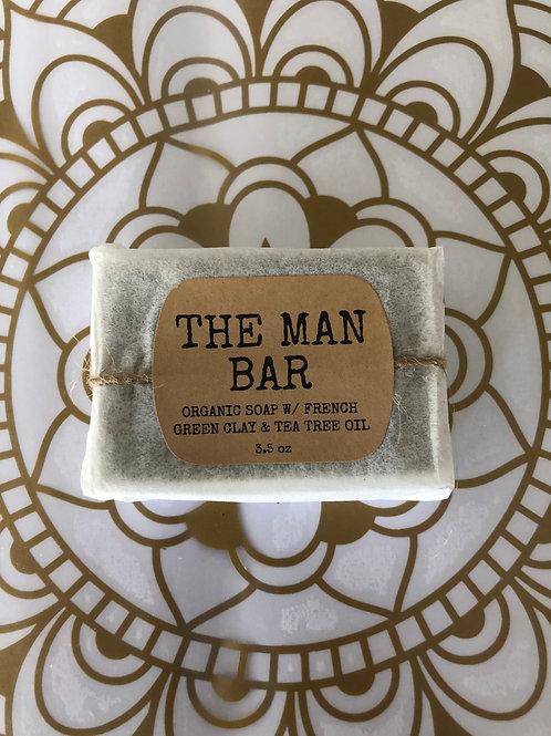 3.5oz The Man Bar Soap