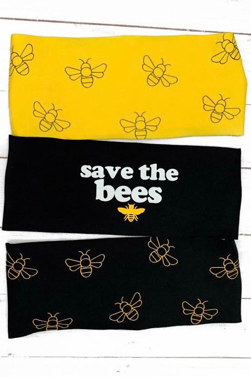 Headbands - Save the Bees (Charity) Collection - Manda Bees