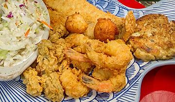 Sliders Menu Seafood