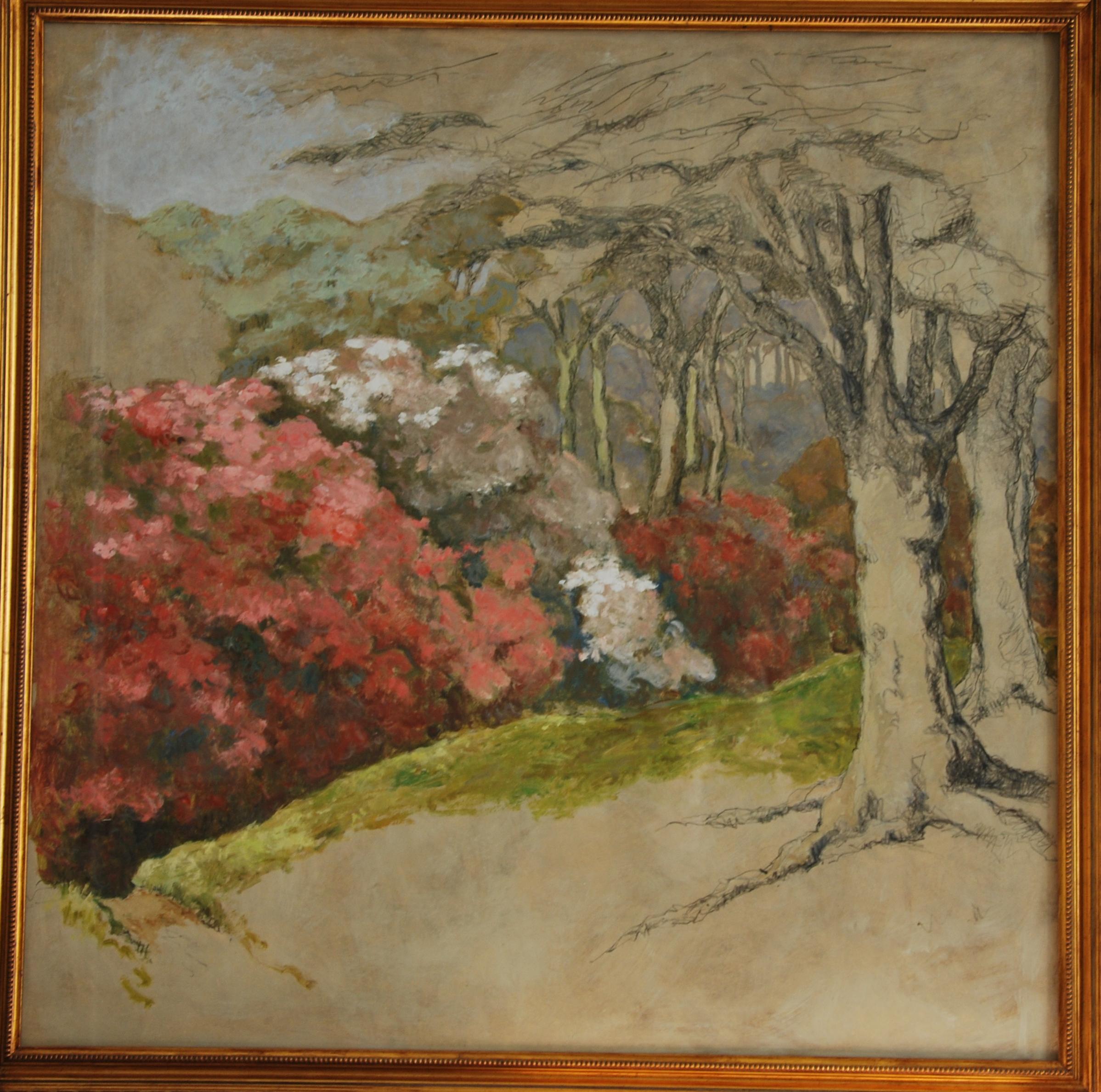 Bois des Moutiers, Mai - 80x80