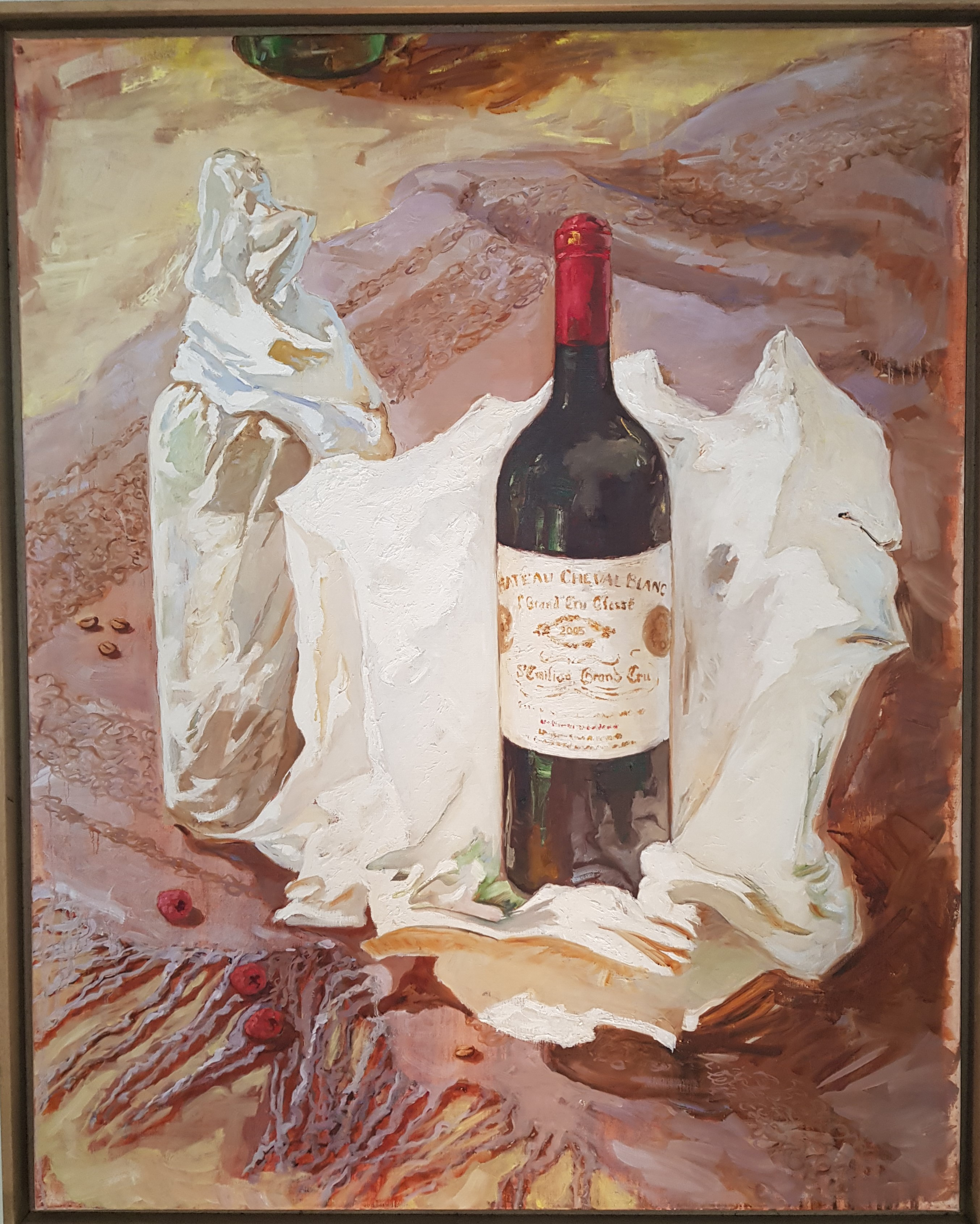 Cheval Blanc 2005 - 100 x 80